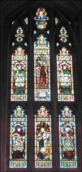 Jane Austen Window Winchester