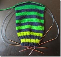 Basic Sock - Fab Funky Fibers - Shades of Green