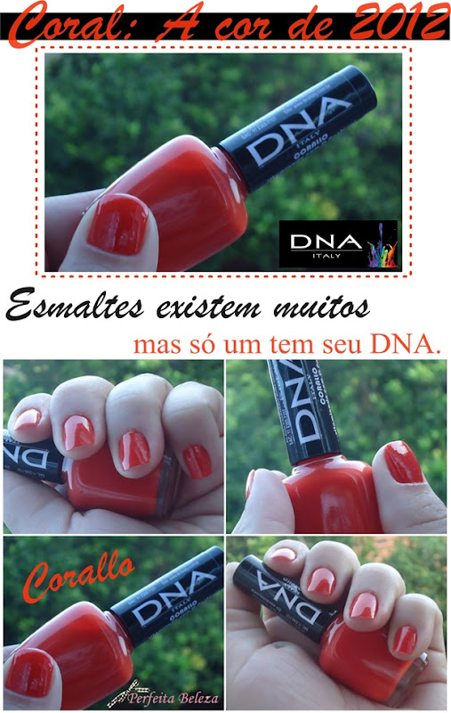 esmalte DNA Italy corallo