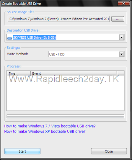 Create Bootable USB Drive - PowerISO