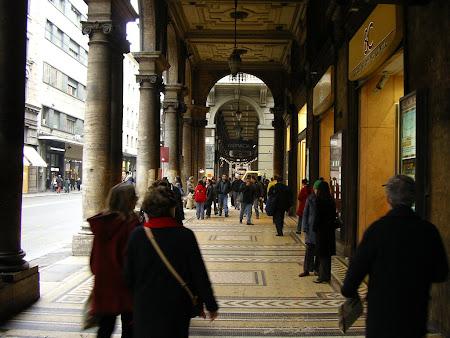 Obiective turistice Bologna: Arcadele orasului se intind pe kilometri intregi