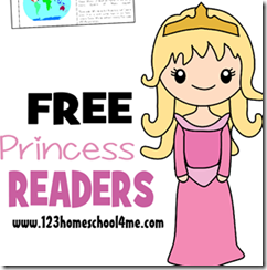 princess readers Toddler - 2nd Grade