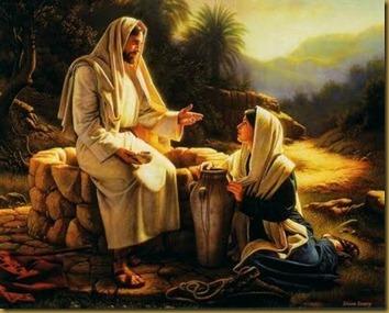 JESUS CON SAMARITANA