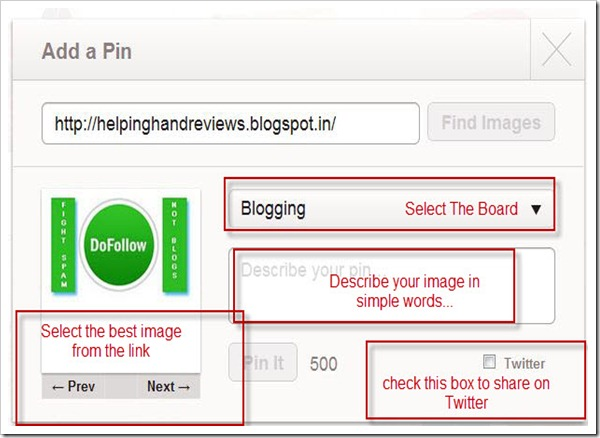 Add A Pin On Pinterest