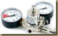 аппарат для розлива пива: редуктор/регулятор давления на углекислотный газовый баллон