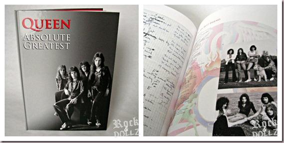 Libro CD Absolute Greatest de Queen