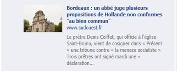 engatjament catolic Sud-Ouest.fr