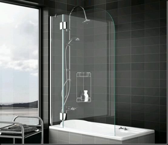 Mamparas Para Tina De Baño:presentes en el baño como la mampara de la ducha