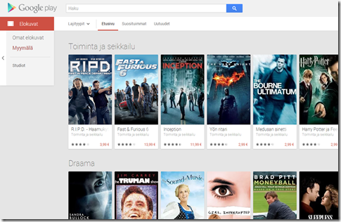 Google play movies