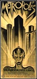 Metropolis - German Poster