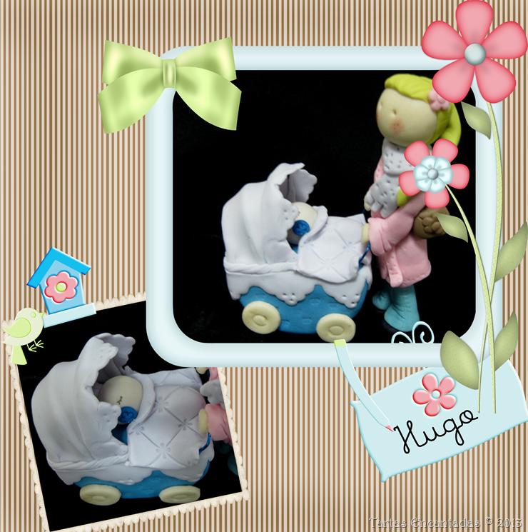 mama carrito y bebe