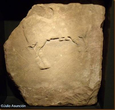 Estela de tipo jinete - museo de la romanización - Calahorra