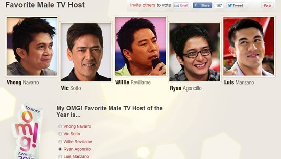 favorite male tv host