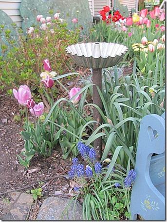 funky garden junk