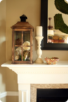 accessories for mantel
