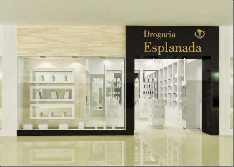 Fachada Drogaria Esplanada
