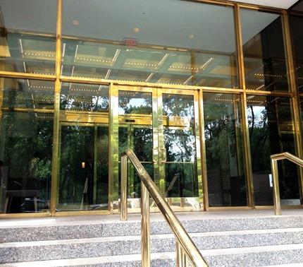 trump entrance