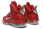 nike lebron 9 gr christmas 6 03 Throwback Thursday: Look Back at LBJs 2011 Christmas Shoes