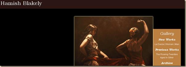 Belles et sensuelles les peintures de  Hamish Blakely