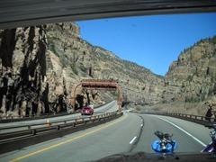I-70 snakes around many Colorado River Canyons!