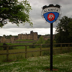 Alnwick Caslte, home of the Percy family