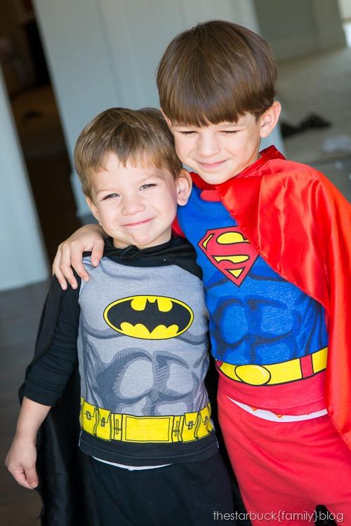 Superman and Batman Halloween blog-1
