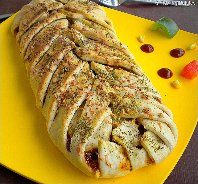 braided pizza