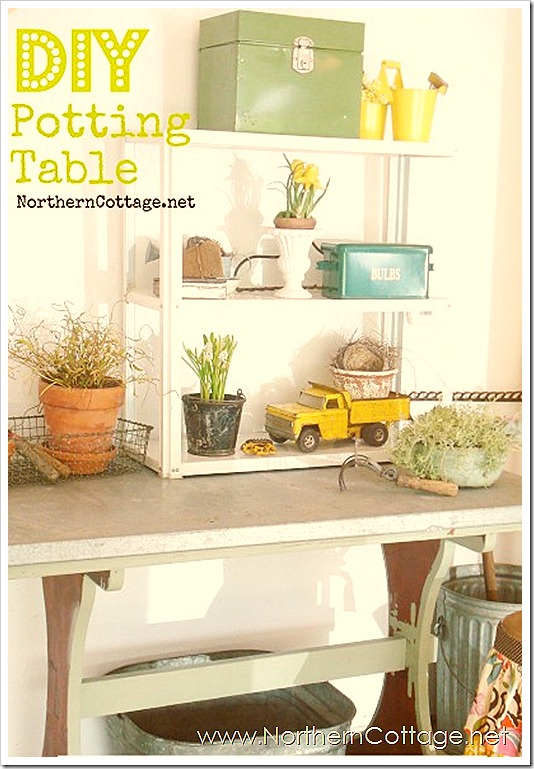 northern cottage potting table 2