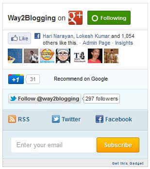 mashable social widget