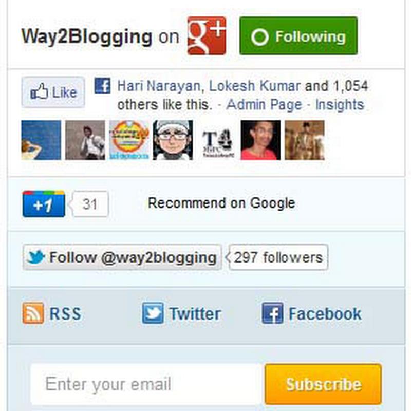 10 Widgets Social Share Buttons