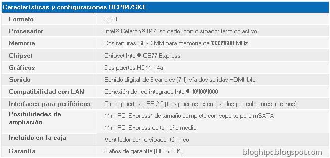 Caracteristicas DCP847SKE