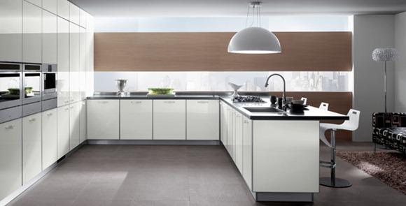 15 modelos de cocinas simples y minimalistas idecorar for Modelos de cocinas minimalistas