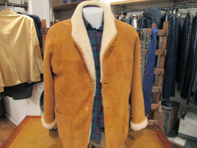 Sulka Shearling Coat