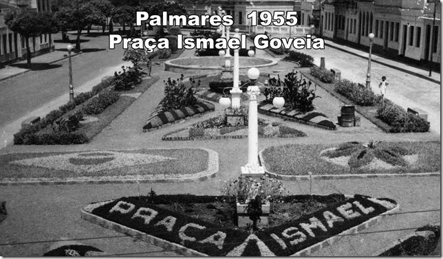 Praça Ismael Gouveia - foto tirada da sacada da prefeitura (Palácio do Bambu)