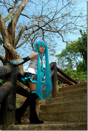 Miku Hatsune of Vocaloid 2011