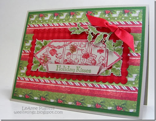 LeAnne Pugliese WeeInklings Merry Monday 96 Christmas Card