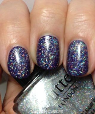 butter LONDON Stardust (over Bramble)