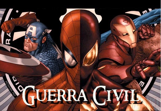 Guerra Civil - Marvel