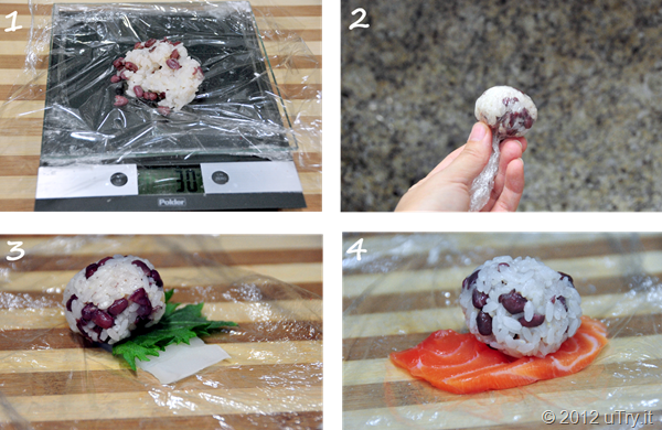 How to Make Sushi Rice Balls
