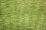 Ognioodporna tkanina dekoracyjna. Na zasłony, narzuty, poduszki, dekoracje. Styl naturalny, lniany. Zielona.