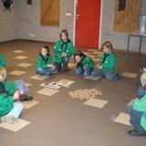 Pieten op bezoek 22-11-2008