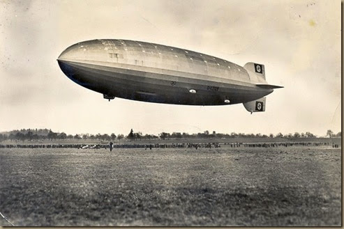 Hindenburg - first test flight - March 4, 1936