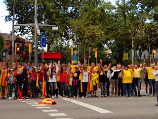 Diada fiesta naional Cataluña