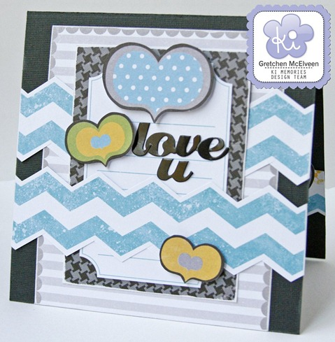 KI Memories Gretchen McElveen_Love u card
