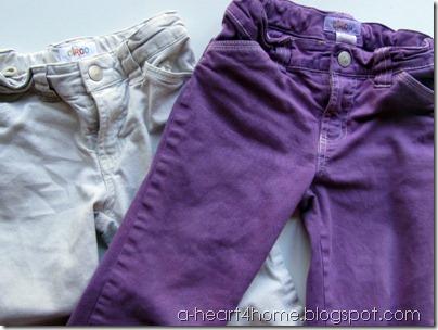 dyeing khakis 2