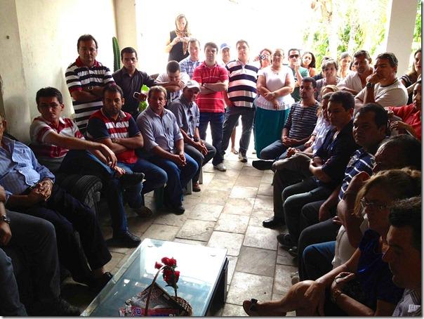 Equador.Reunião com os setores da sociedade II