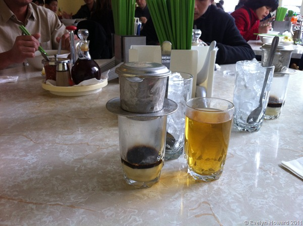 Vietnamese coffee © Evelyn Howard 2011