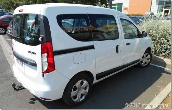 Frankrijk met de Dacia Logan MCV 06