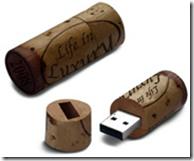 Chiavetta USB tappo di sughero