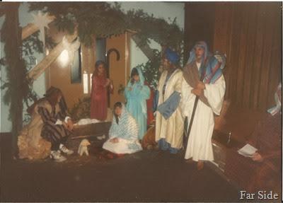 Live nativity 1991